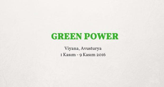 Green Power Erasmus + proje