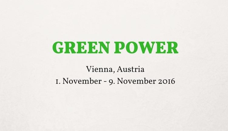 Green Power Erasmus + Project