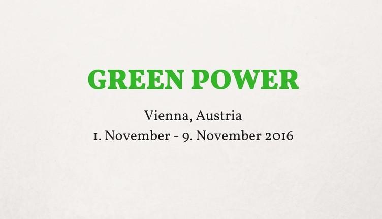 Green Power Erasmus + Project